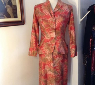 1950s Dress with matching jacket