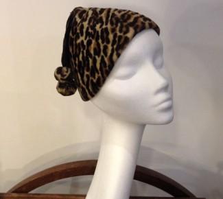So 1930s! Lovely Leopard-print