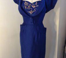 1950s Dress with Matching Bolero