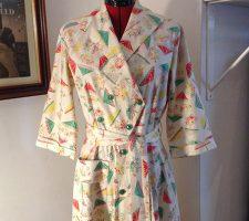 Stunning Vintage 1950s Housecoat