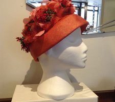 A beautiful, vintage 1960s, hat from British label, Webron